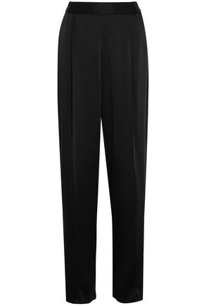 Cicely Satin Wide Leg Pants by Stella Mc Cartney