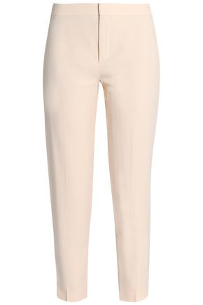CHLOÉ Cropped crepe skinny pants