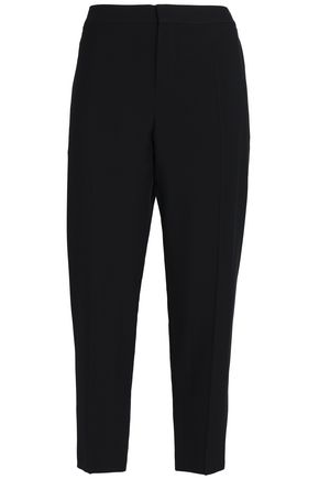 CHLOÉ Cropped crepe tapered pants