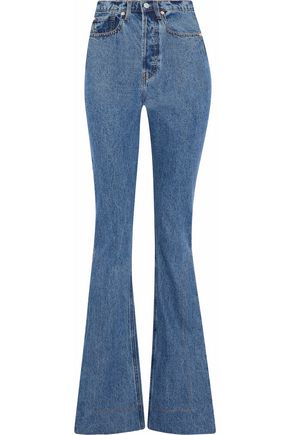 SOLACE LONDON Hettie high-rise flared jeans