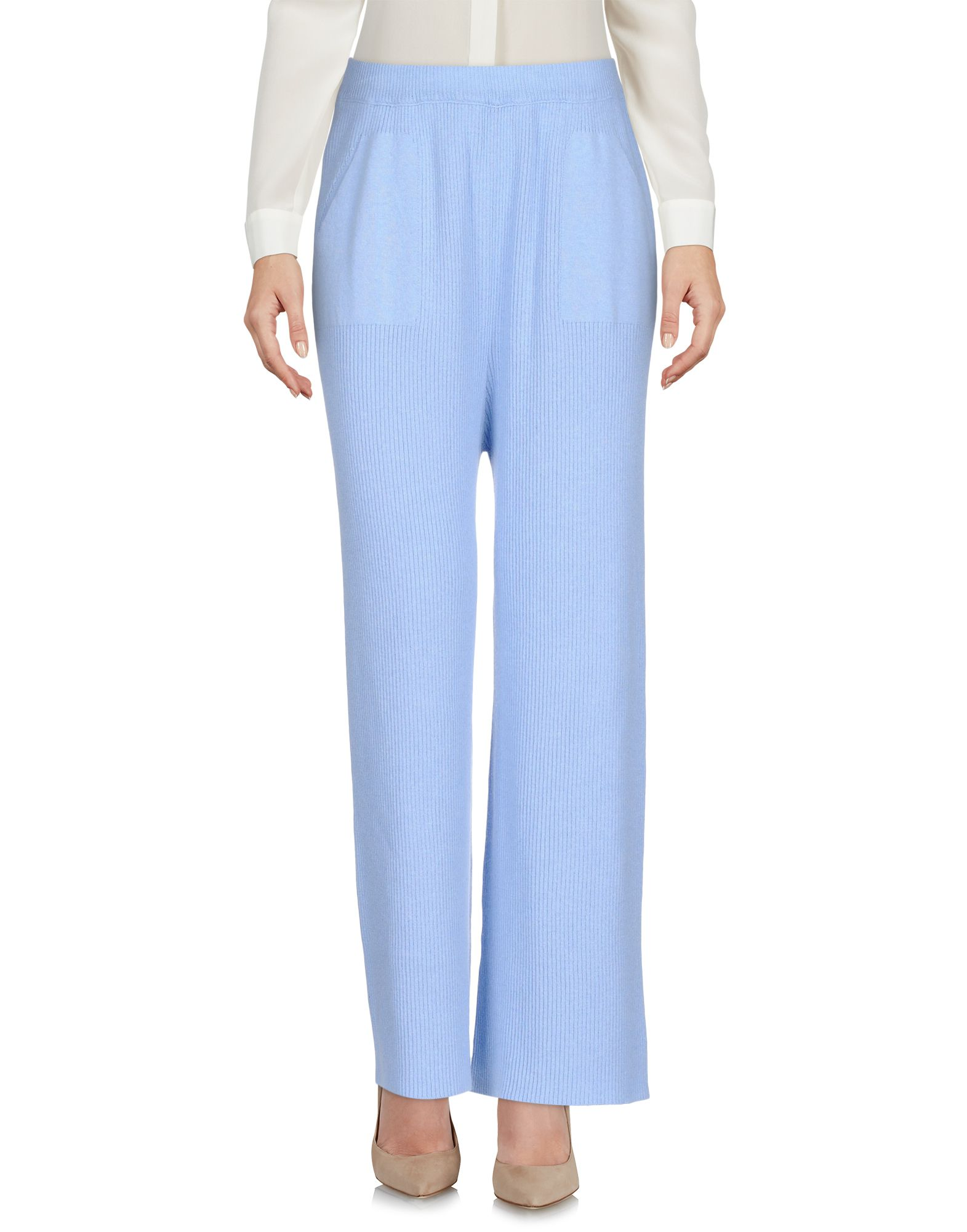 CHIARA BERTANI Повседневные брюки три четверти брюки moda di chiara брюки широкие