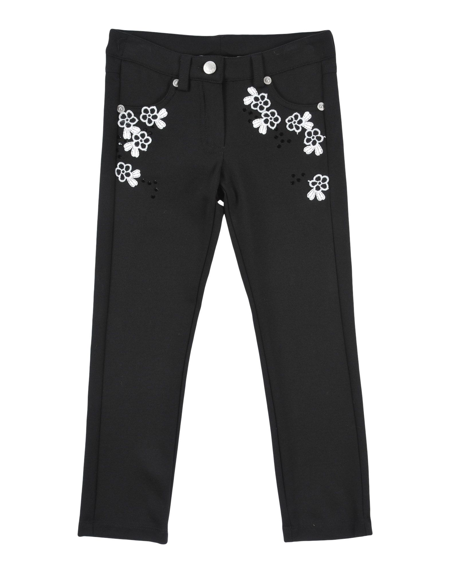 ERMANNO SCERVINO JUNIOR Casual Pants in Black