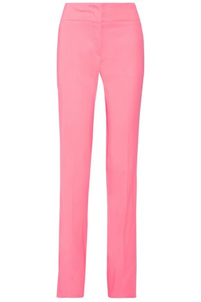 EMILIO PUCCI Stretch-crepe straight-leg pants