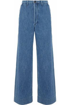 RAG & BONE Manor mid-rise wide-leg jeans