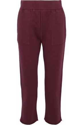 RAG & BONE French cotton-terry track pants
