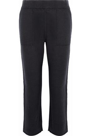 RAG & BONE/JEAN French cotton-terry track pants