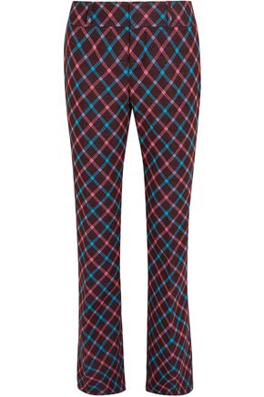 MARNI Jacquard-knit straight-leg pants