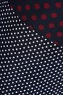REDValentino Cropped printed silk wide-leg pants