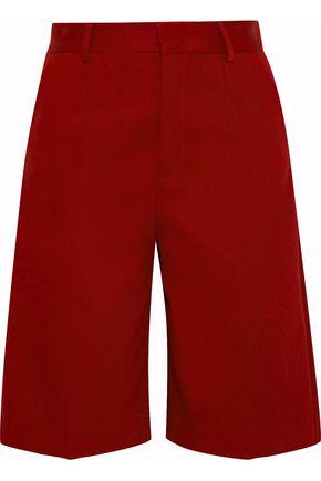 REDValentino Cotton-blend canvas shorts