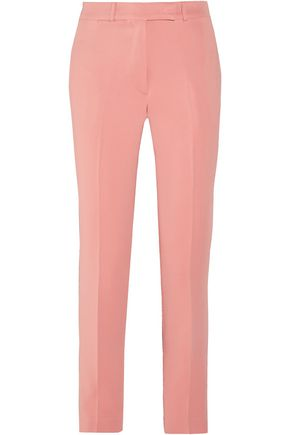 ETRO Cropped crepe straight-leg pants