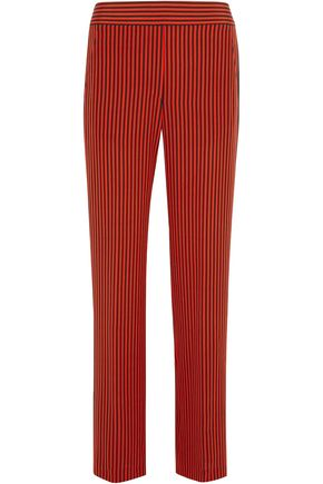 ETRO Striped silk-satin wide-leg pants