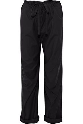 RAG & BONE Seawater cropped poplin straight-leg pants