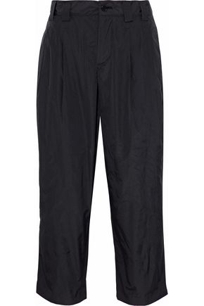 REDValentino Cropped shell tapered pants