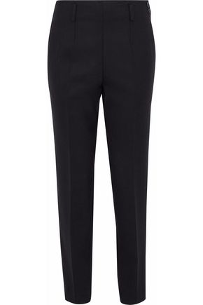 CHRISTOPHER KANE Cropped stretch-wool tapered pants