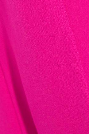 ANTONIO BERARDI Neon stretch-wool kick-flare pants