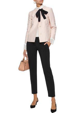 REDValentino Wool-blend straight-leg pants
