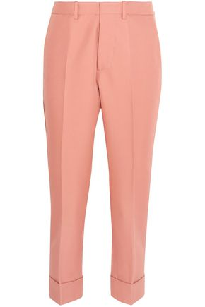 MARNI Cropped gabardine tapered pants