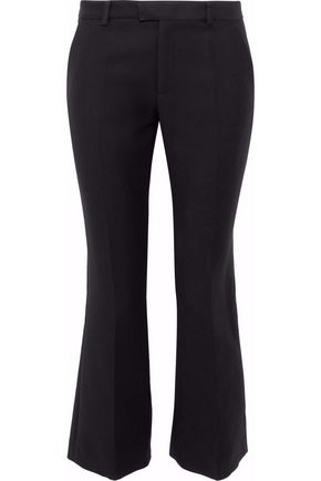 RED(V) Cotton-blend kick-flare pants
