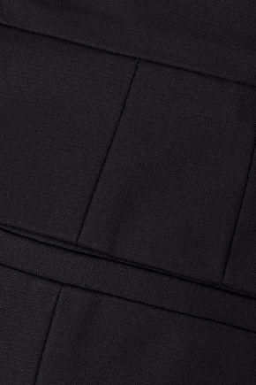 REDValentino Cropped stretch-cotton slim-leg pants