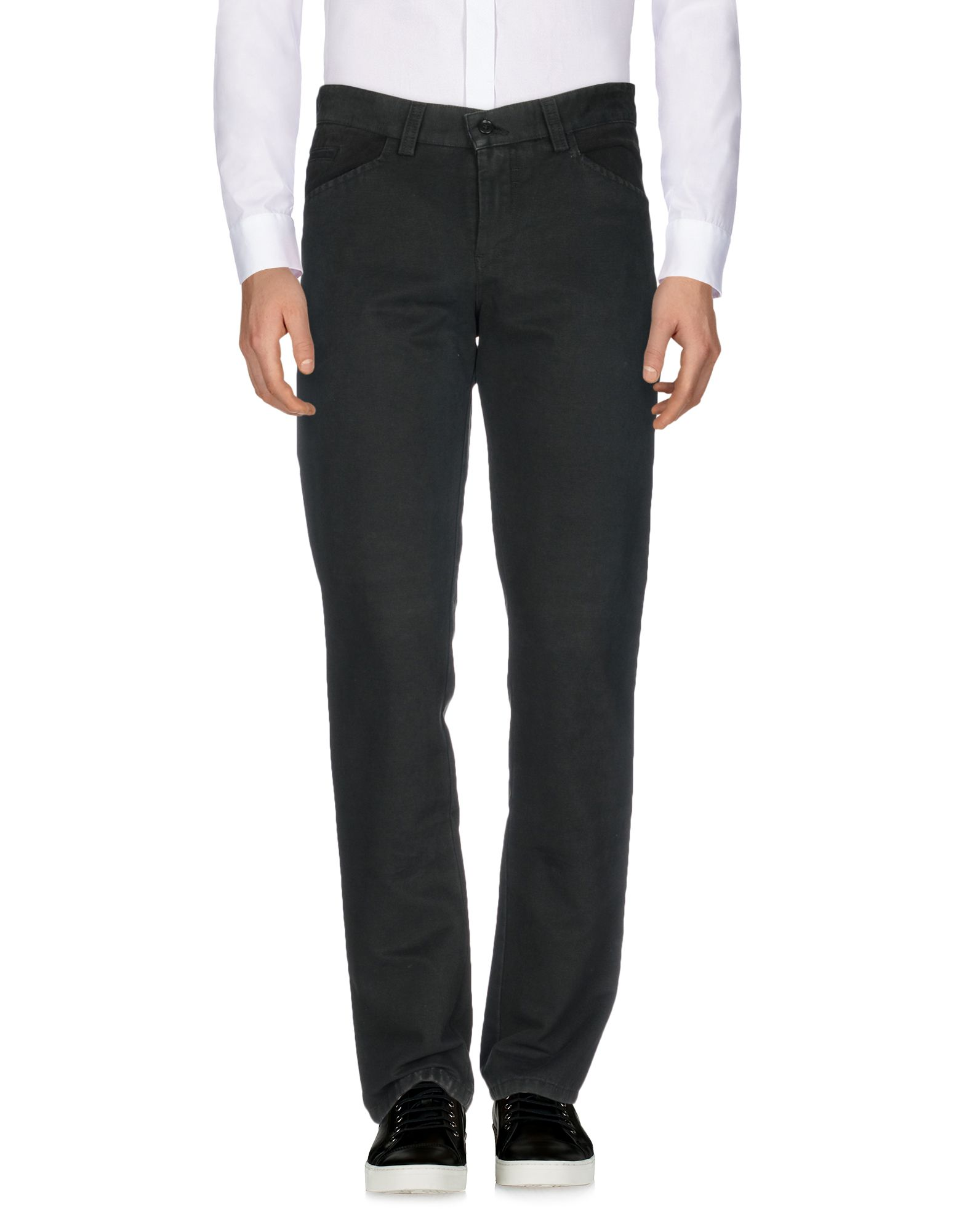 《送料無料》SKID メンズ パンツ ブラック 48 コットン 100%