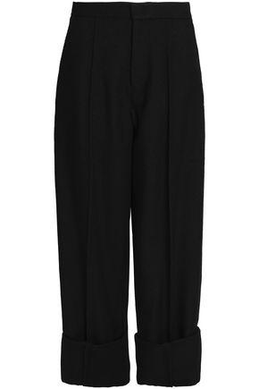 JOSEPH Wool-twill wide-leg pants