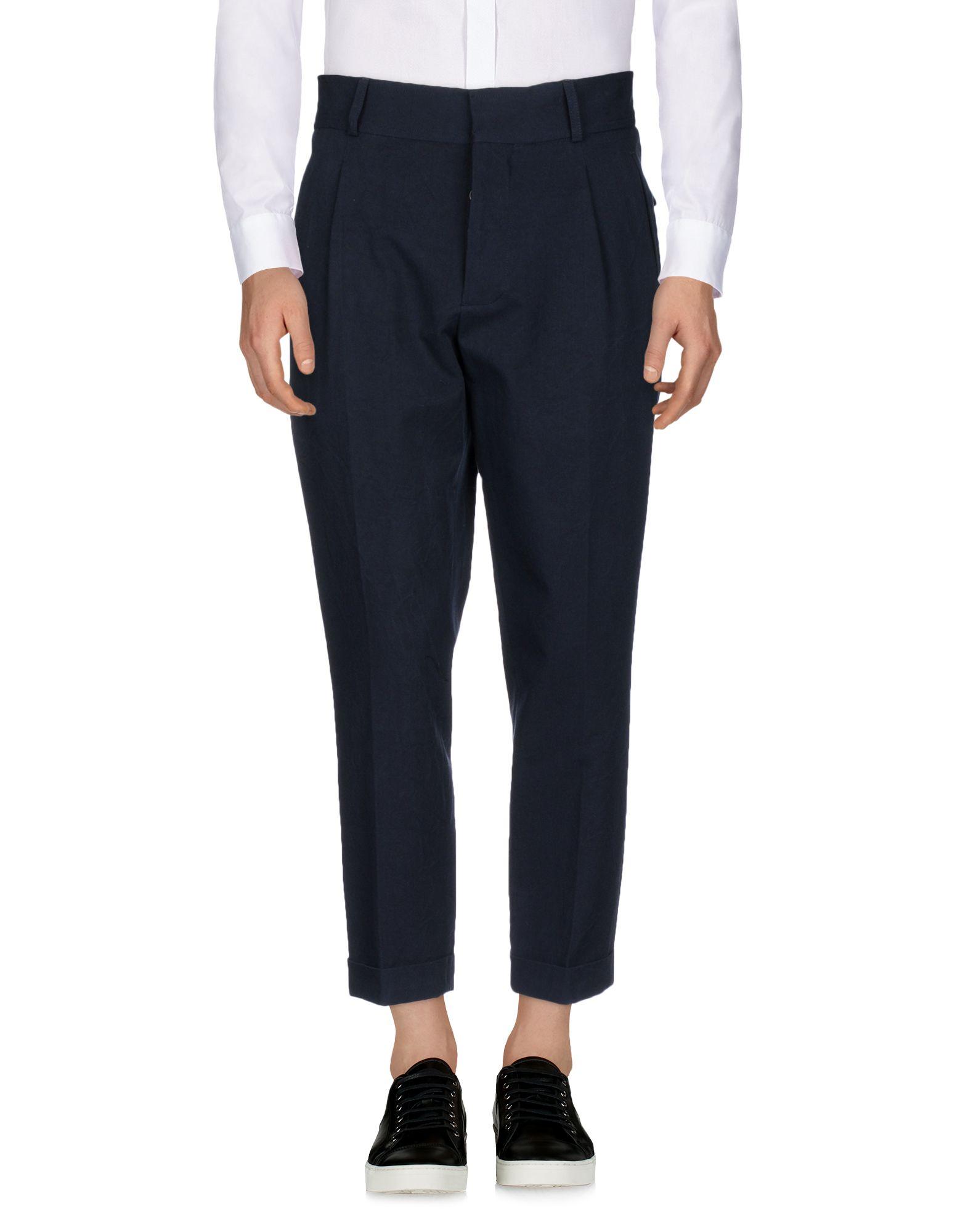 《送料無料》KENT & CURWEN メンズ パンツ ダークブルー 46 コットン 100%
