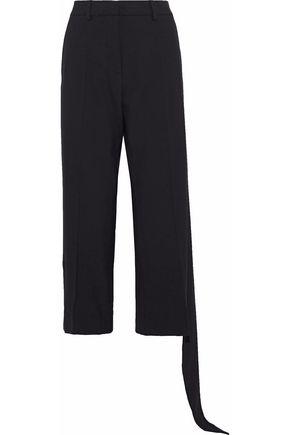 J.W.ANDERSON Cropped draped crepe wide-leg pants