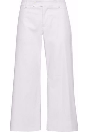 REDValentino Cotton-blend twill culottes
