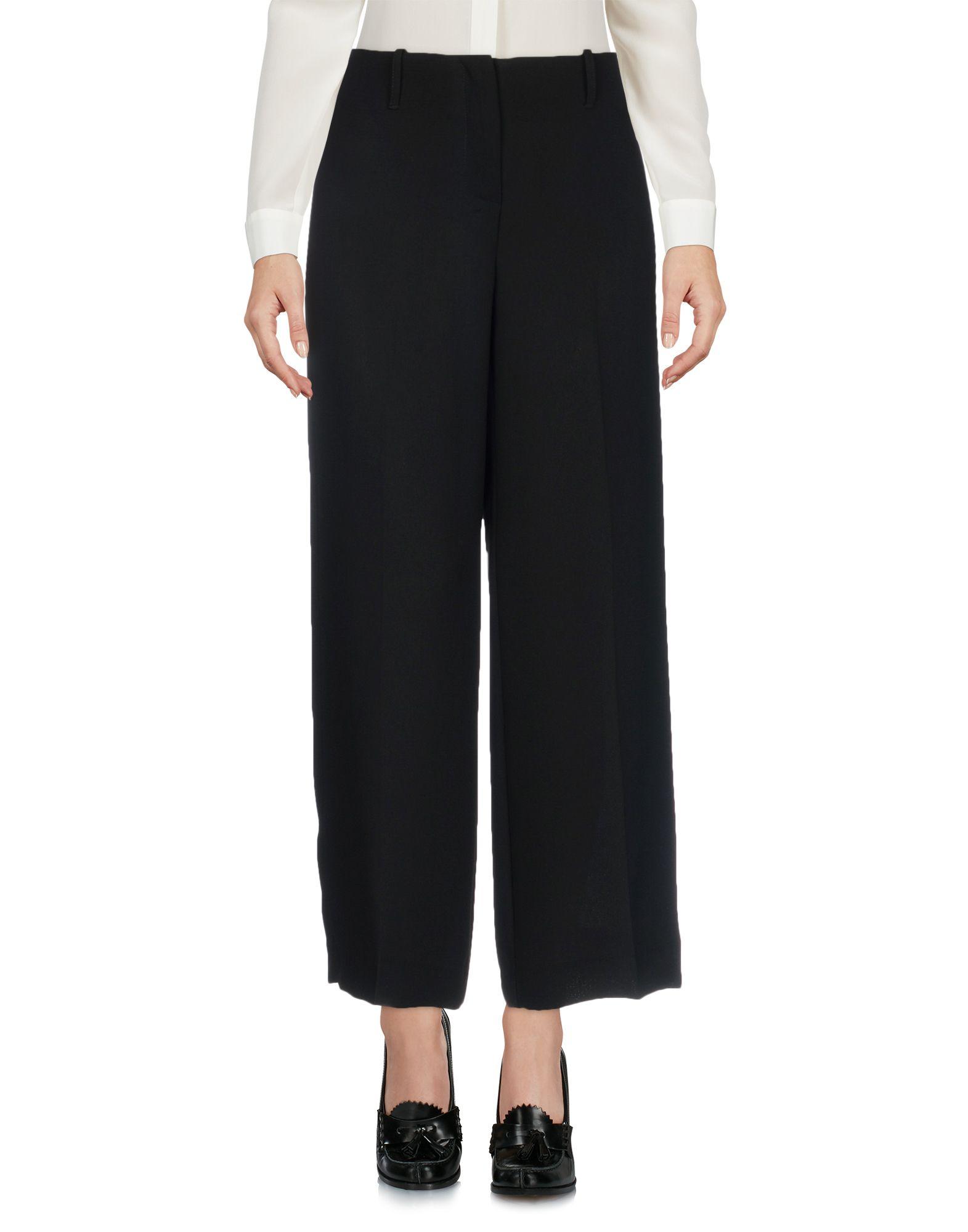 CHIARA B. Повседневные брюки три четверти брюки moda di chiara брюки широкие
