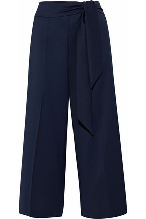 IRIS & INK Cassia belted twill culottes