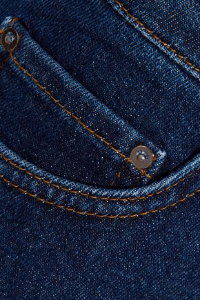 VICTORIA, VICTORIA BECKHAM Mid-rise kick-flare jeans