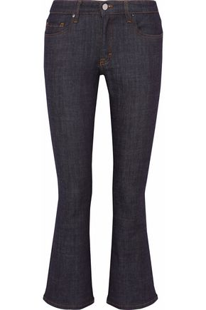 VICTORIA, VICTORIA BECKHAM Mid-rise kick-flare jeans