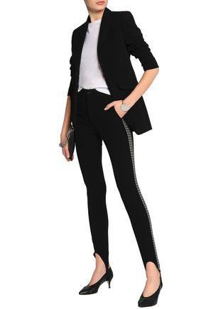 HELMUT LANG Stretch-knit slim-leg stirrup pants