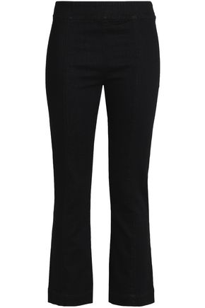 HELMUT LANG High-rise kick-flare jeans