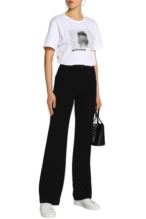 Twill Flared Pants by Helmut Lang