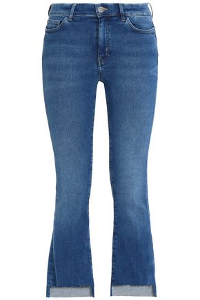 M.I.H JEANS Mid-rise kick-flare jeans