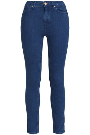 M.I.H JEANS Bridge cropped mid-rise skinny jeans