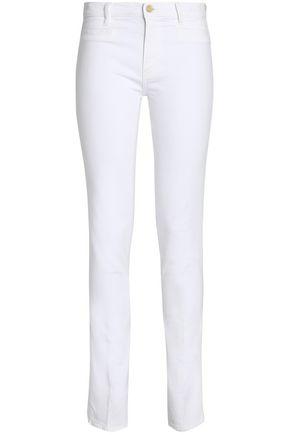 M.I.H JEANS Mid-rise straight-leg jeans