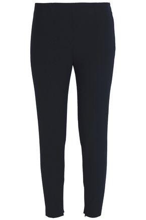 REDValentino Cropped twill slim-leg pants