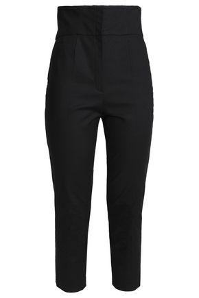 REDValentino Cotton-blend slim-leg pants