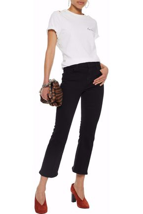 J BRAND Aubrie high-rise kick-flare jeans