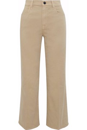 J BRAND Joan cropped mid-rise bootcut jeans