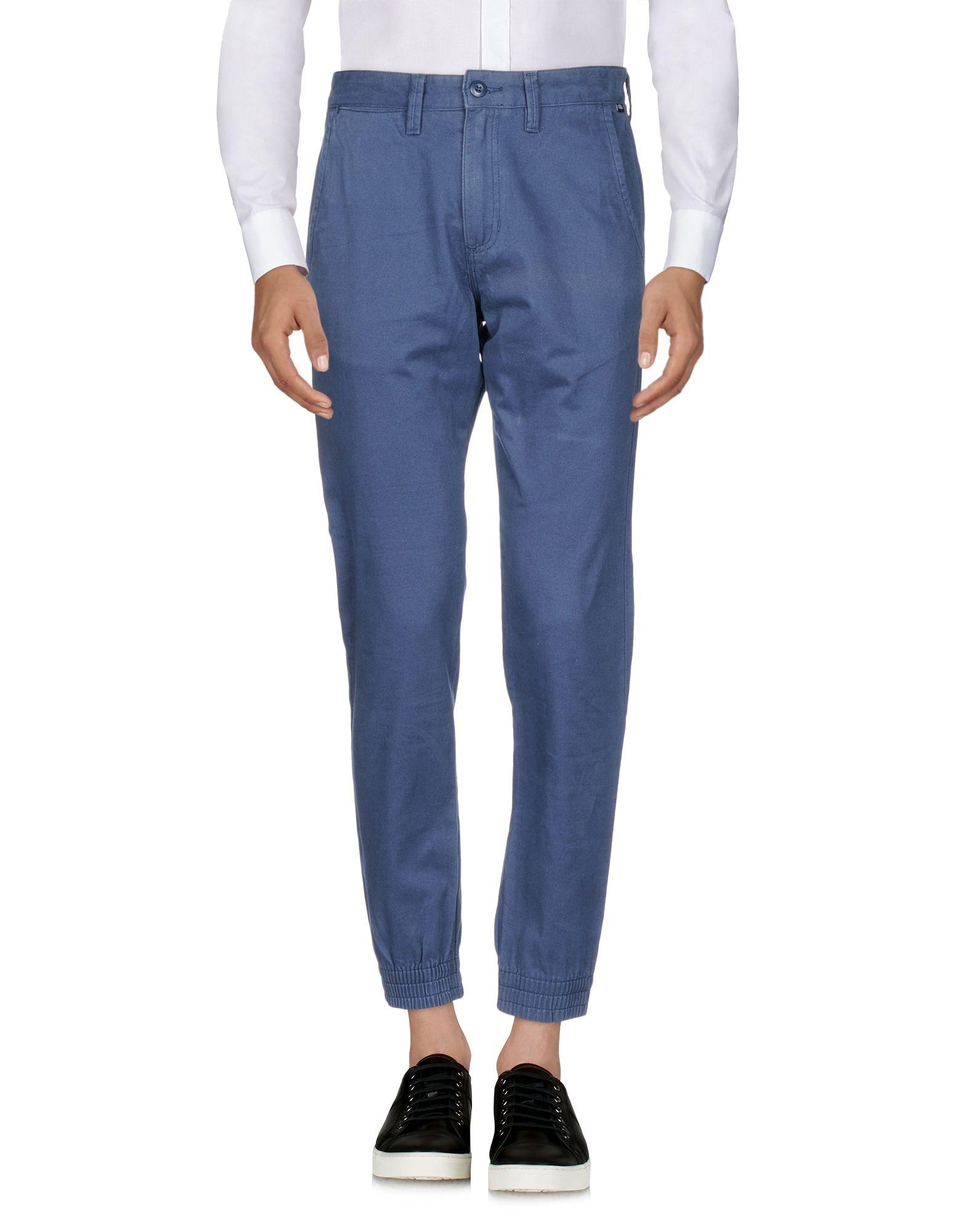《送料無料》VANS メンズ パンツ ダークブルー 28 コットン 100%