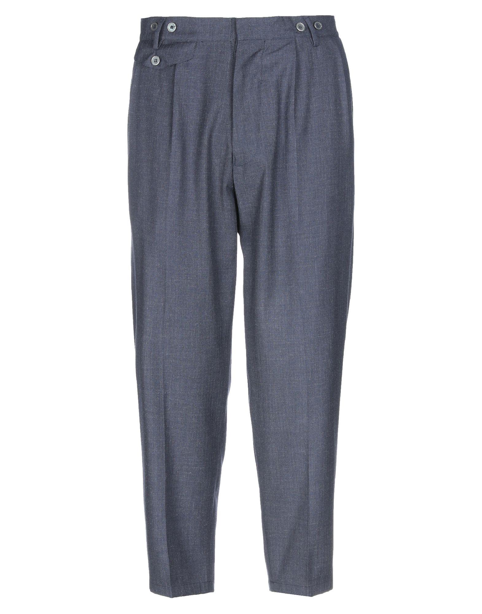 《期間限定セール開催中!》JOHN SHEEP メンズ パンツ ダークブルー 48 ポリエーテル 70% / レーヨン 30%