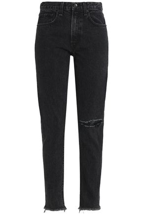 RAG & BONE/JEAN High-rise straight-leg jeans