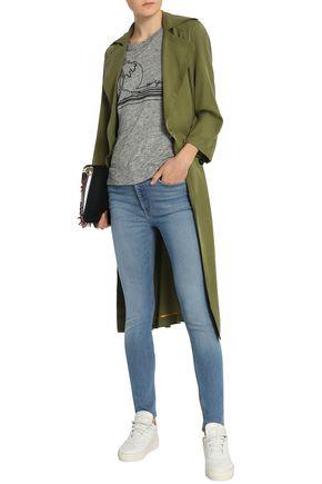RAG & BONE Cropped mid-rise skinny jeans