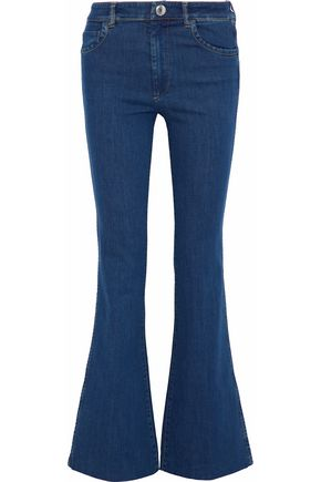 PRADA High-rise flared jeans