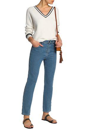 CHLOÉ High-rise slim-leg jeans
