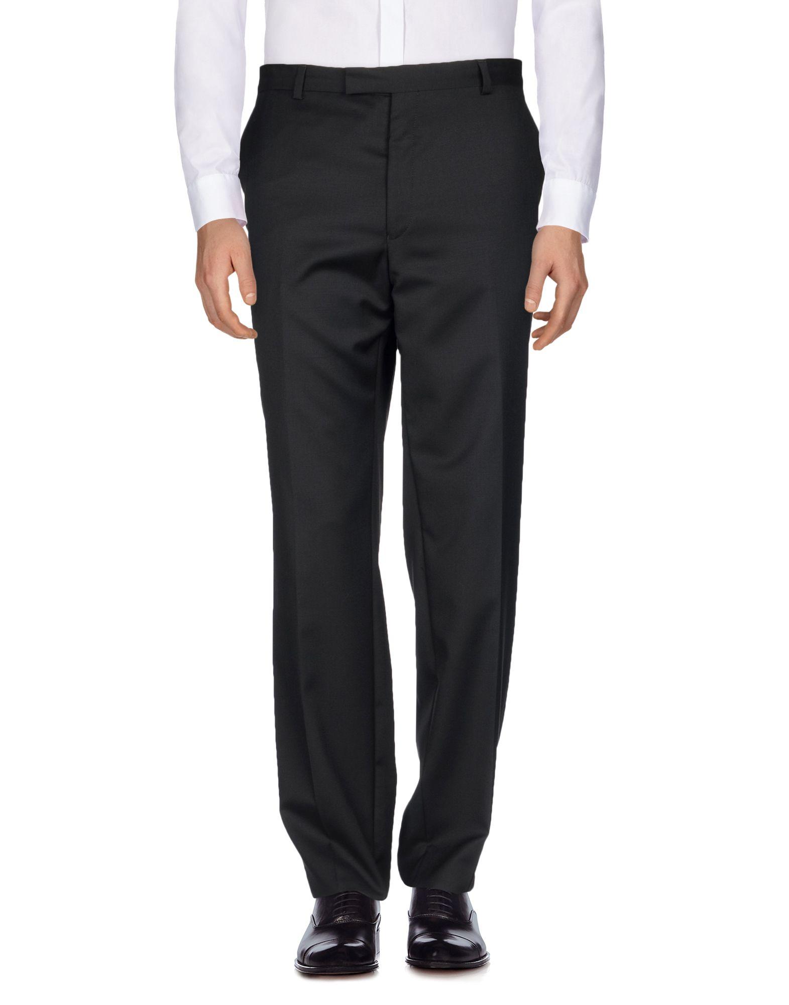 《送料無料》GIVENCHY メンズ パンツ ブラック 46 バージンウール 100%