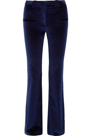 ALTUZARRA Serge cotton-blend velvet flared pants